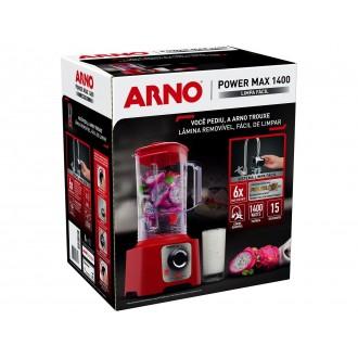 Liquidificador Arno Power Max 1400 LN56 Vermelho