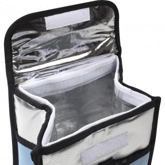Bolsa Térmica Ice Cooler 4.5 Litros C/ Alça Mor Azul