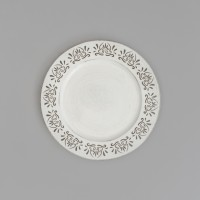 Sousplat White And Black de Plastico 30293 - Rojemac