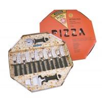 Conjunto De Talheres Para Pizza 14 Peças Tramontina - Preto