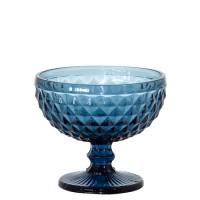 Jogo De 6 Taças Coquetel Azul Verre Tc13837