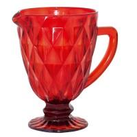Jarra Vermelha Vitral Verre TC14858 - Mimo