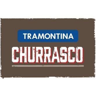 Jogo Churrasco 3 Pçs Castanho - Polywood - Tramontina -