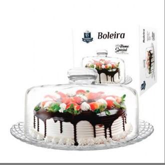 BOLEIRA HOME SPECIAL C/TAMPA VIDRO RUVOLO