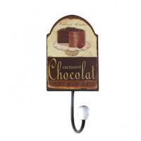 Cabideiro Metal Torta Chocolate 1 Gancho 02155 Oldway