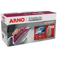 Ferro de Passar Roupa a Vapor e a Seco Arno - Steamgliss Rosa 127v